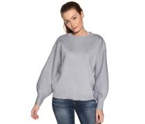 Pullover hellblau/silber