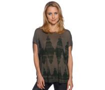 T-Shirt, khaki, Damen