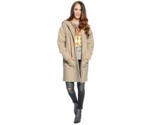 Mantel, beige, Damen