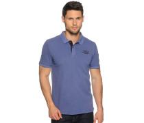 Poloshirt, blau, Herren