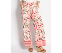 Hose rosa/khaki