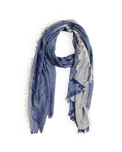 Schal, blau, Unisex