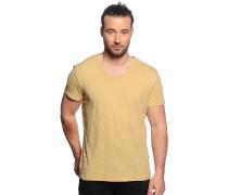 T-Shirt, senf, Herren