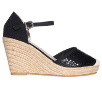 Wedges, Schwarz, Damen