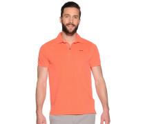 Poloshirt, Orange, Herren
