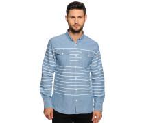 Hemd Regular Fit, blau/weiß gestreift, Herren
