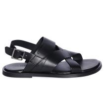 Sandalen, schwarz, Herren