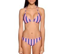Bikini lila/koralle/weiß