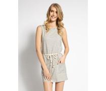 Kleid offwhite/navy