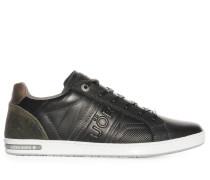Sneaker, schwarz/khaki, Herren