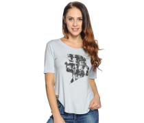 T-Shirt, hellblau, Damen