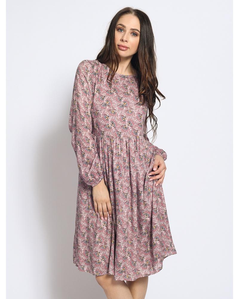 Kleid lila/rosa