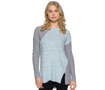Pullover, mint/grau, Damen
