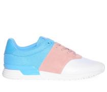 Sneaker, hellblau/rosa/weiß, Damen
