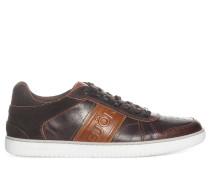Sneaker, braun/cognac, Herren