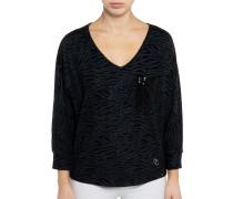 Sweatshirt anthrazit/schwarz