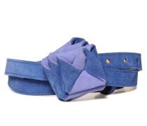 Ledergürtel, Blau, Damen