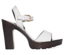Sandaletten, weiß, Damen
