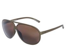 Sonnenbrille, khaki, Unisex