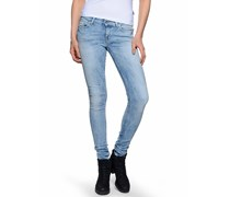 Slender Jeans, blau, Damen