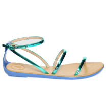 Sandalen, grün, Damen
