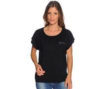 Strickshirt, schwarz, Damen