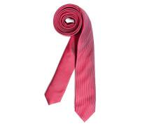 Krawatte, rot/grau, Herren