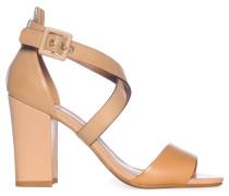Sandaletten, Beige, Damen