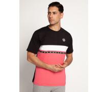 T-Shirt schwarz/pink