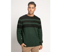 Pullover navy/flaschengrün