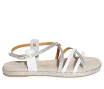 Sandalen, Silber, Damen