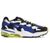 Sneaker weiß/blau/schwarz