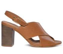 Sandaletten cognac