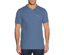 Kurzarm Poloshirt Regular Fit graublau