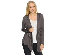 Cardigan, anthrazit, Damen