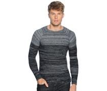 Pullover, anthrazit/schwarz, Herren