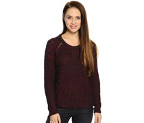 Pullover, bordeaux, Damen
