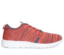 Sneaker, koralle/navy, Damen