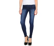 Kissy Denim Leopard, dark used, Damen