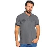 Poloshirt, grau, Herren