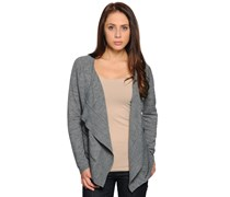 Strickjacke, grau, Damen