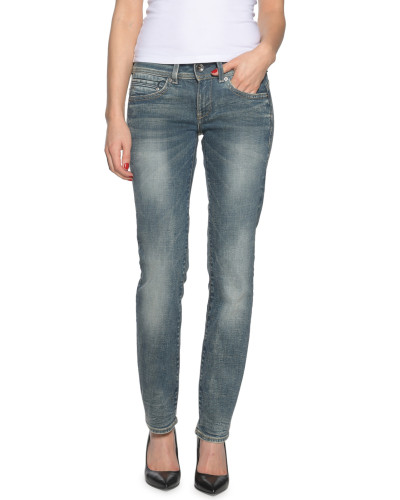 Jeans Migde Saddle blau