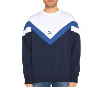 Sweatshirt navy/weiß