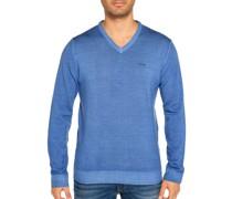 Pullover aus Wolle blau