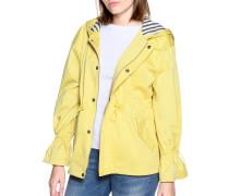 Übergangsjacke gelb