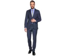 Anzug, Regular Fit, Blau, Herren