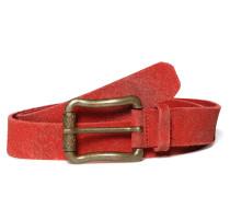 Ledergürtel, Rot, Damen