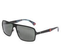 Sonnenbrille, schwarz/grün, Herren