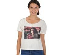 T-Shirt, ecru/C, Damen