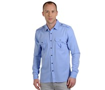 Hemd Regular Fit, hellblau, Herren